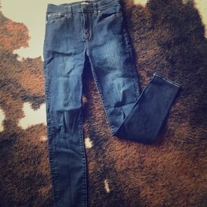 Jcrew Stretch Jeans, High Rise.